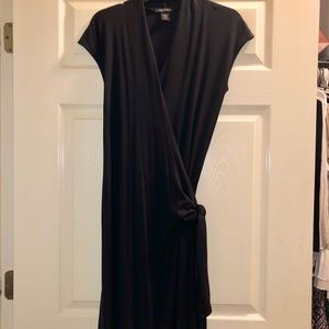 Carilyn Vaile Classic Black Wrap Dress
